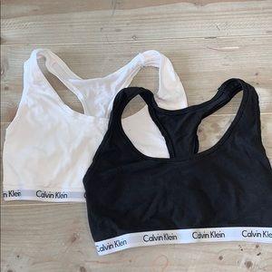 Set of 2 Calvin Klein Cotton Bra